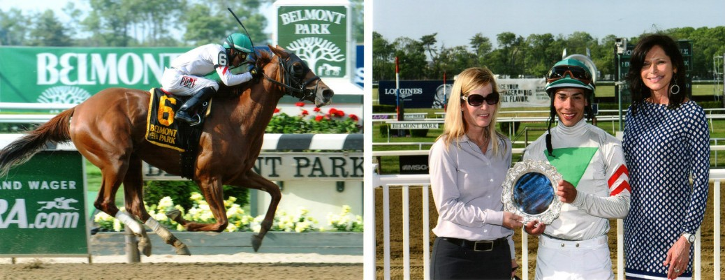 Sheriffa runs 1st Place in the Critical Eye @ Belmont On 5/25/2015