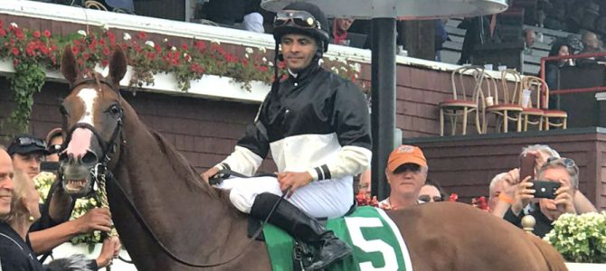Voodoo Song Earns Four-Star Rating at Saratoga